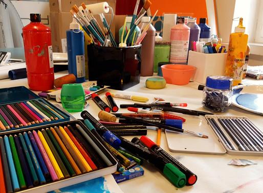 KineArt ist Kunst- und Kreativtherapie