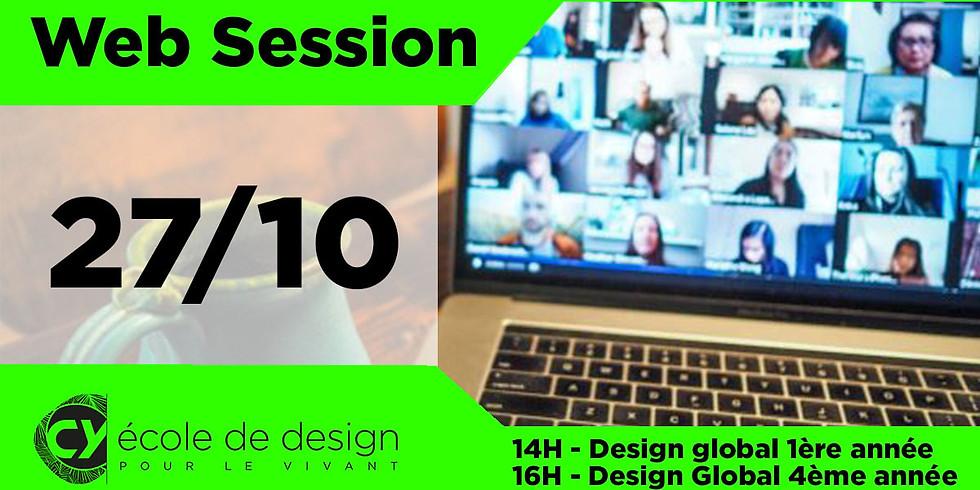Web Session - présentation Design Global 4ème année