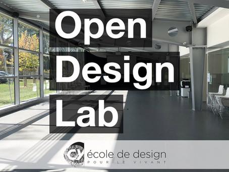 CY école de design : L'OPEN DESIGN LAB