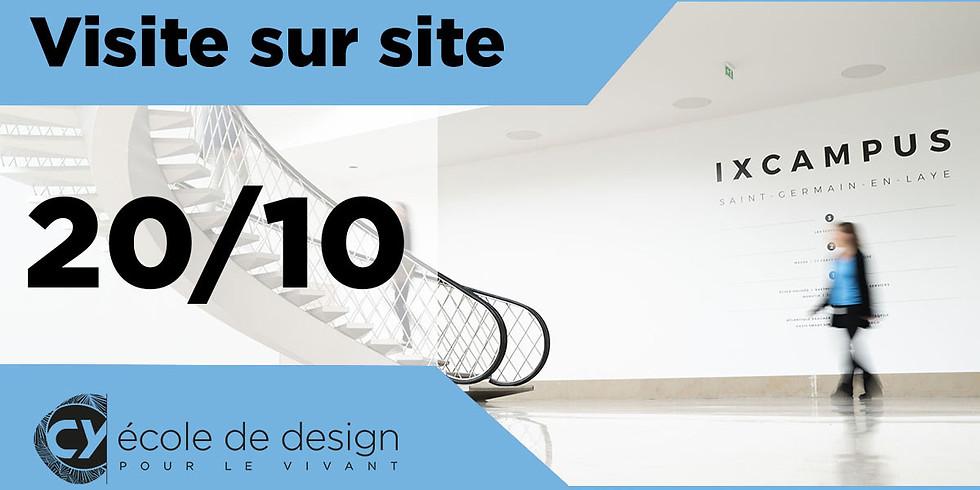 20/10 : Visite de l'iXcampus de Saint-Germain-en-Laye