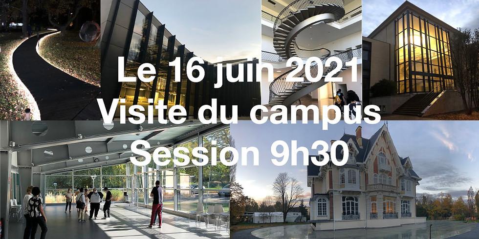 16/06/2021 - 9h30 : Visite du campus iXBlue de Saint-Germain-en-Laye