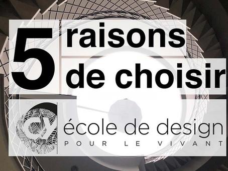 5 bonnes raisons de choisir CY Ecole de design pour sa formation de designer