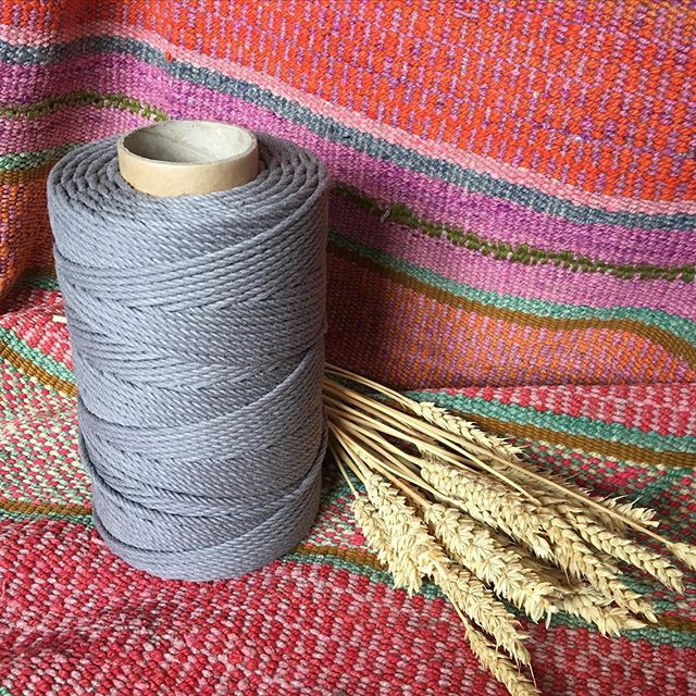 Grey Cotton Cord