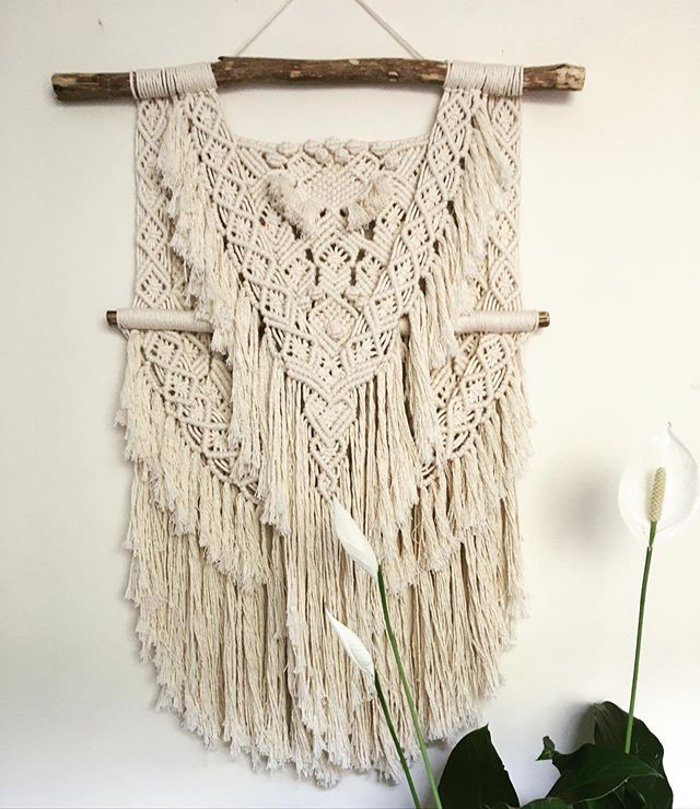 Macrame Wall Hanger for me!