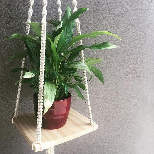 shelf plant hanger
