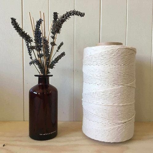3mm Single Twist 100% Cotton String