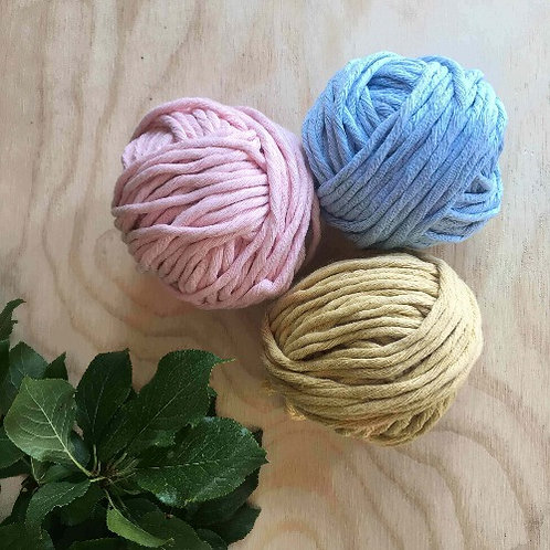 Coloured Cotton String - Baby Set