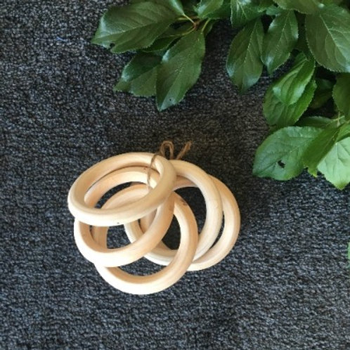 5 Set Wooden Rings