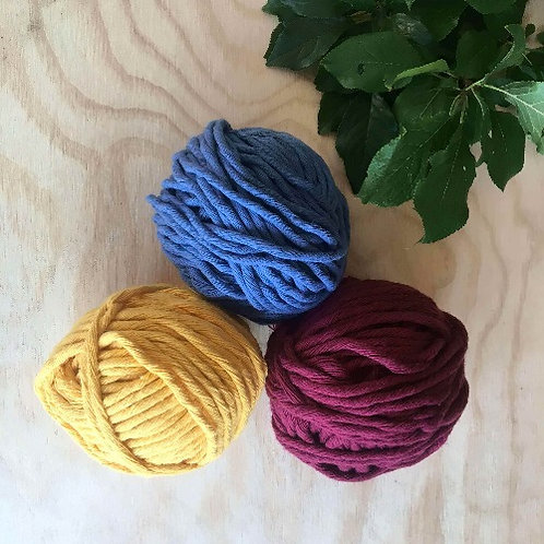 Coloured Cotton String - Spring Set