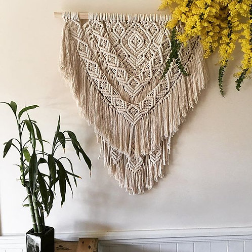 Rebel Macrame Wall Hanger