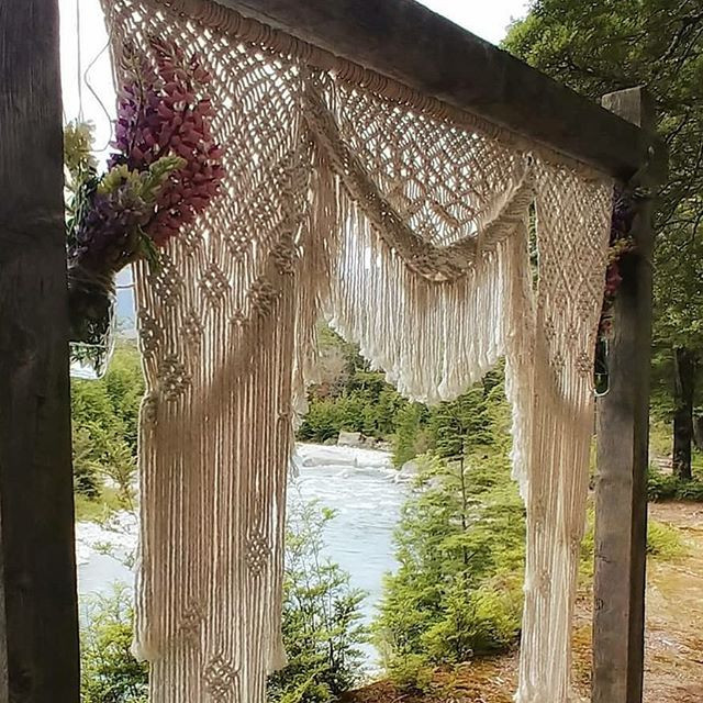 Macrame Wedding Backdrop New Zealand
