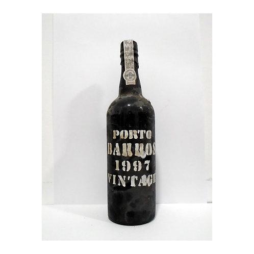 Vinho Porto Barros Vintage 1997
