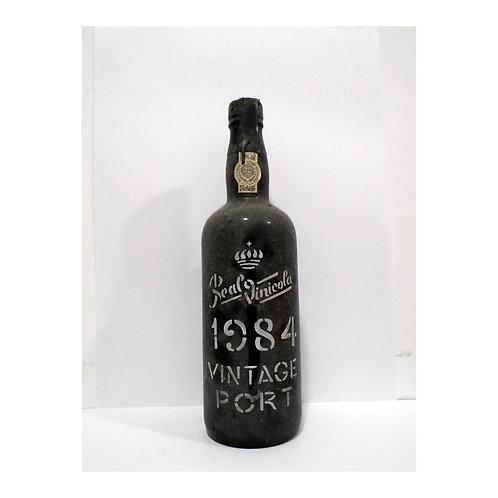 Vinho Porto Real Vinicola Vintage 1984