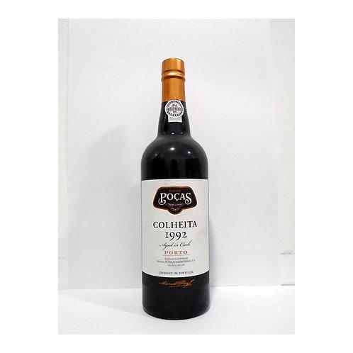 Vinho Porto Poças Colheita 1992