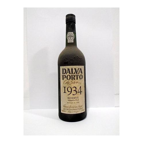 Vinho Porto Dalva Reserva 1934