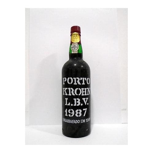 Vinho Porto Krohn L.B.V. 1987
