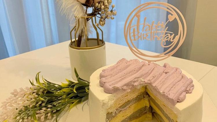 芋頭生日蛋糕