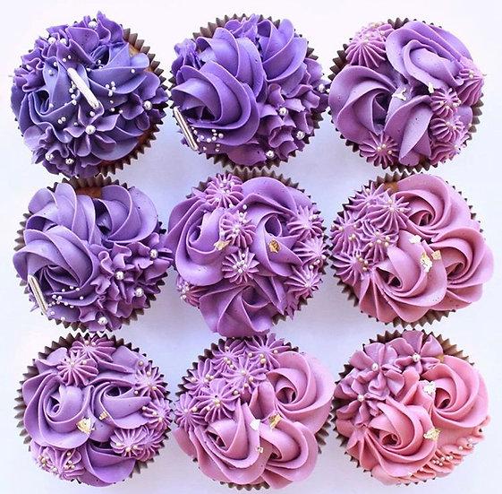 芋頭味紙杯蛋糕Cupcake(9/set)
