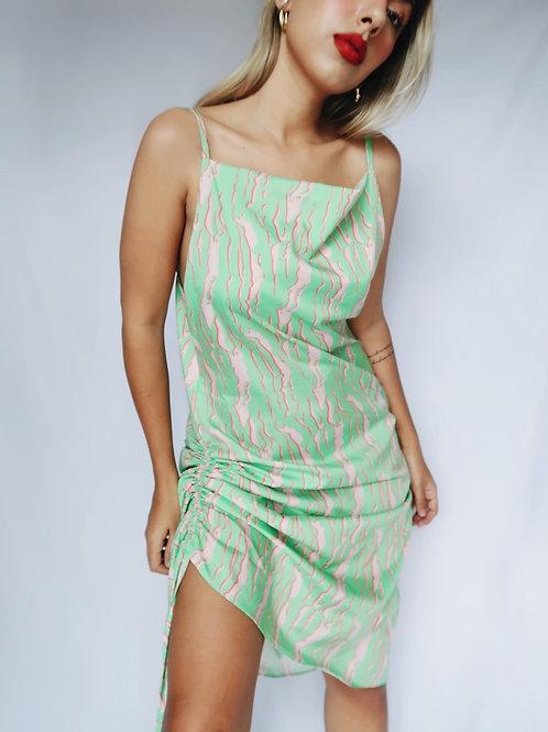 Slip dress verde