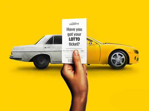Lotto advertising campaign (Africa)