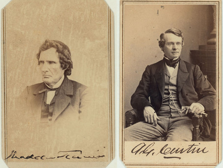 """God only knows what he'll do"" - Andrew Curtin, A.K. McClure, and Thaddeus Stevens before Antietam"