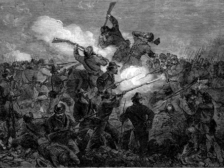 """""""The Sudden, Tremendous, and Simultaneous Fire"""" - The Keystone Zouaves Assault Fort Wagner"""