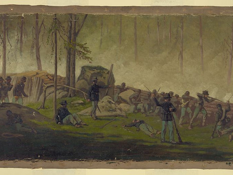 """""""An American citizen of African descent"""" – Black men in the battle for Culp's Hill at Gettysburg"""
