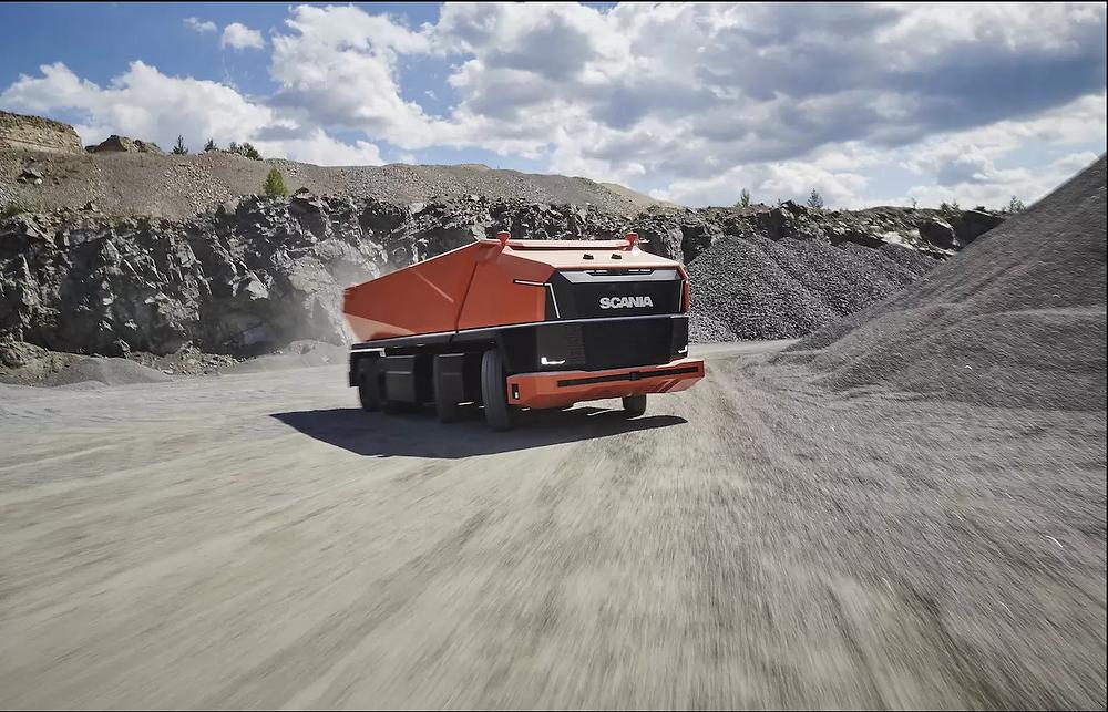 Powersliding Scania