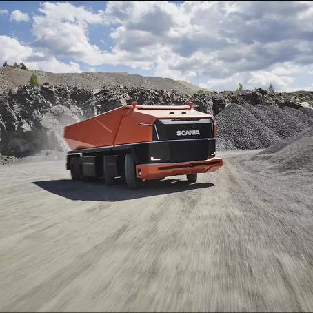 New Autonomous Scania Truck