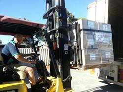 Loading pallets