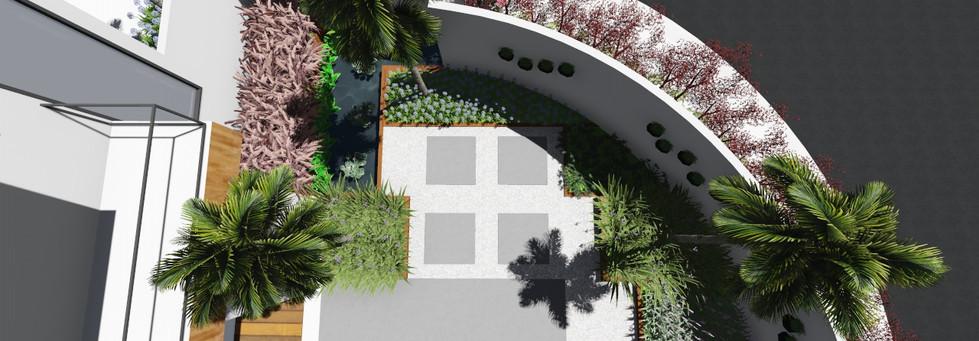 Projeto paisagismo residecial
