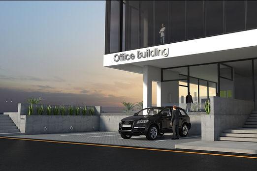 Al Markhiya Office Building Acceso Peato
