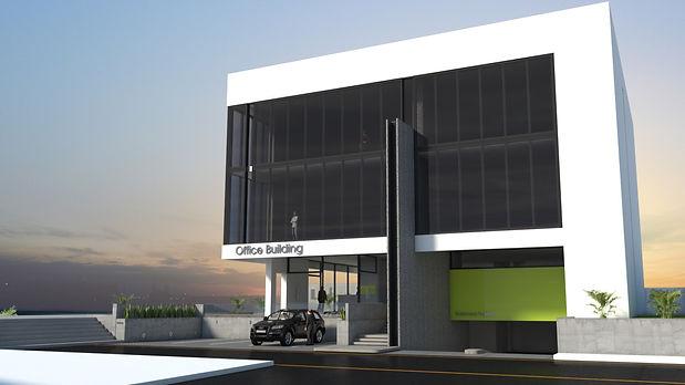 Al Markhiya Office Building Elevación Es