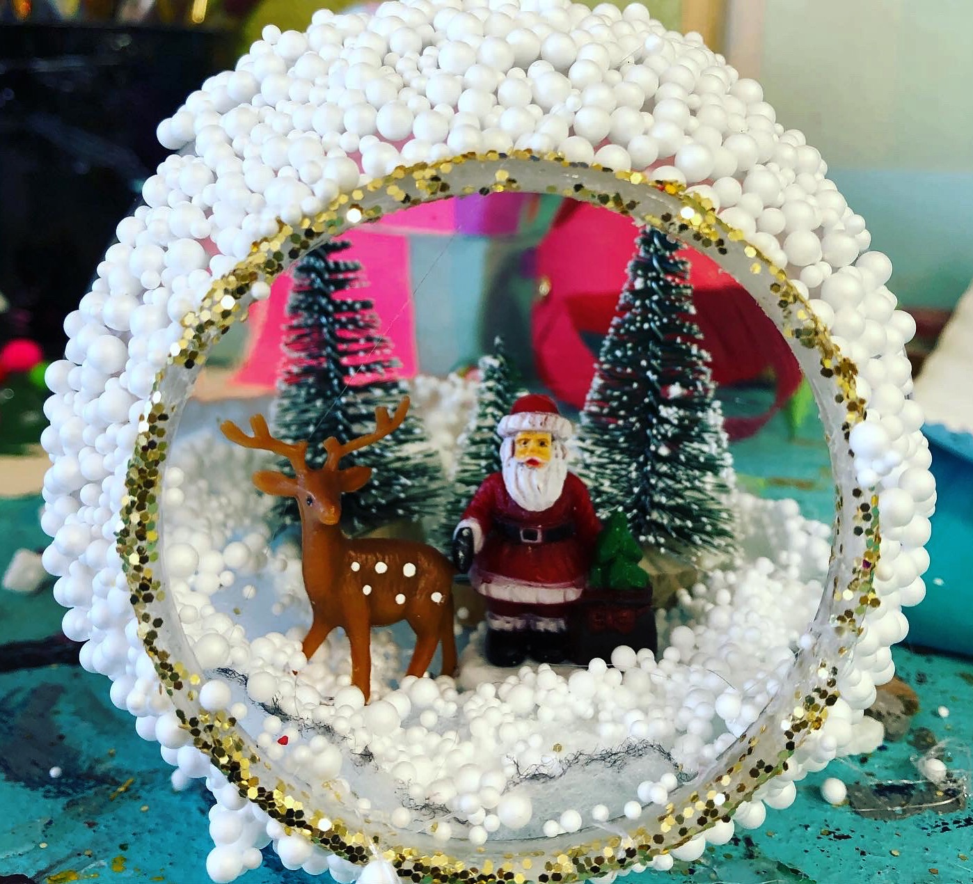 Holiday Hanging Terrarium