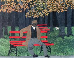 Man on a Bench, 1946.