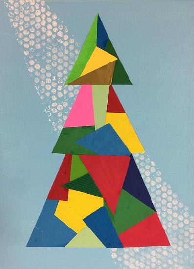 Pop Art Collage Tree Kit