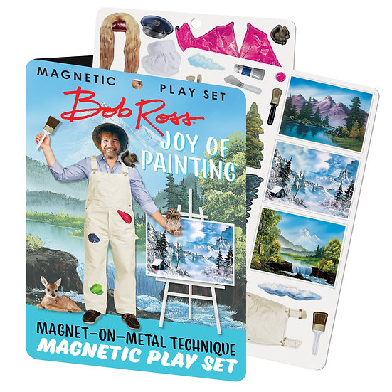 Bob Ross Magnetic Play Set