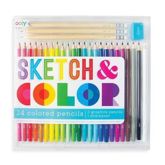 Sketch + Color Pencil Set