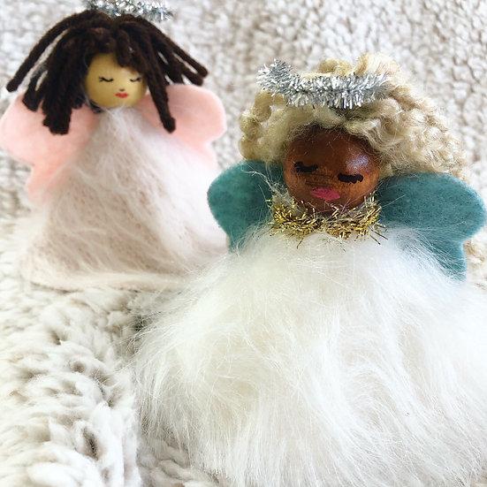 Soft Angel Ornament Kit (Set of 4)