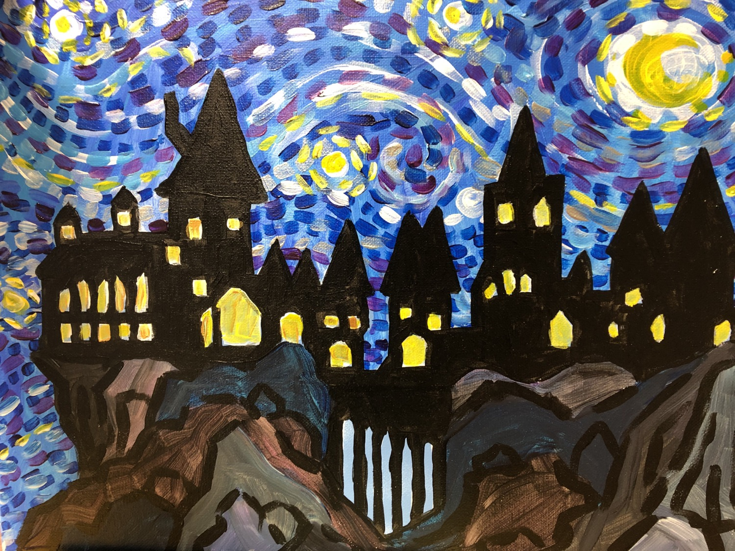 Starry Night Hogwarts