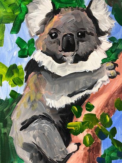 Koala Canvas Painting Kit