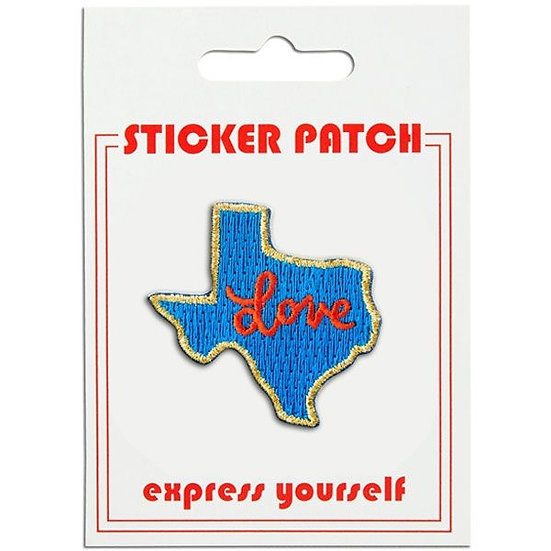 Texas Love Sticker Patch