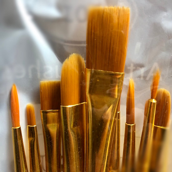 10 Piece Brush Kit