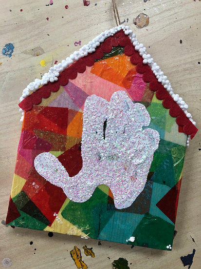 Handprint Block House Kit