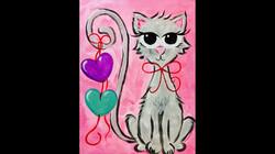 Valentine's Heart Kitty