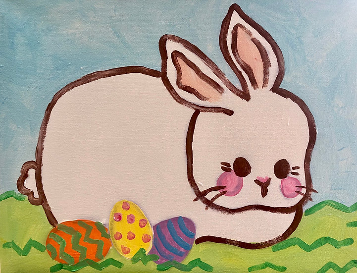 Easter Bunny Canvas Kit