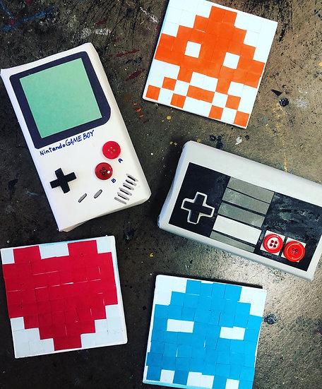 DIY Vintage Video Game Craft Kit