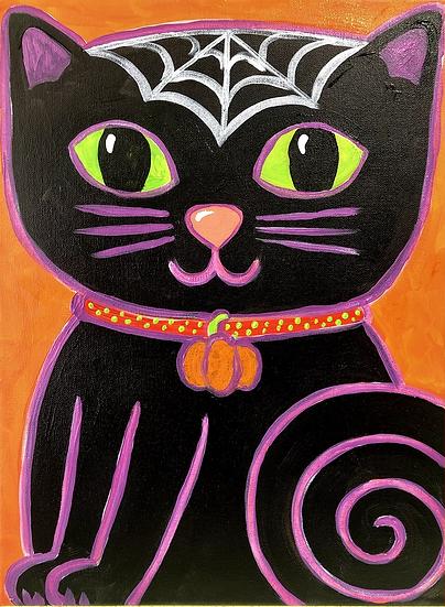 Halloween Cat Paint Kit