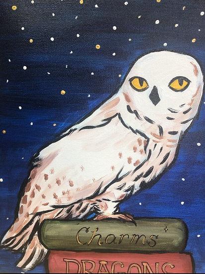 Hedwig Canvas Painting Kit
