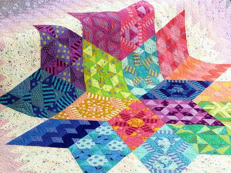 Nebula Block of the Month feat. Tula Pink Fabrics!